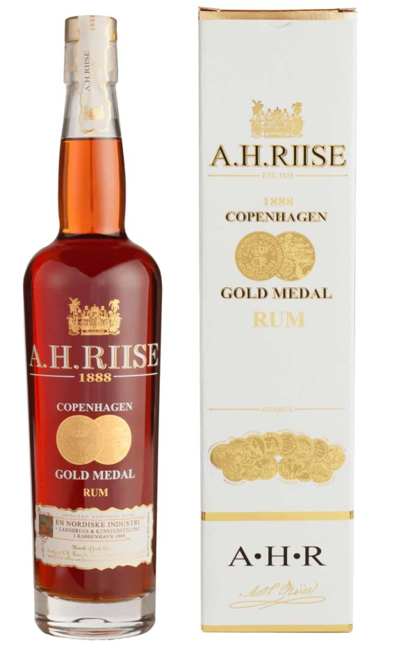 A.H. Riise 1888 Copenhagen Gold Medal Rum FL 70
