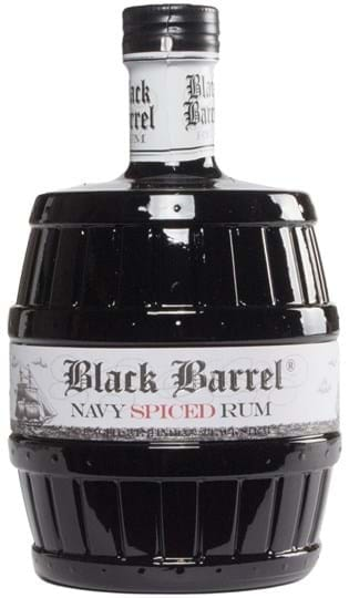 A.H. Riise Black Barrel Navy Spiced Rum FL 70