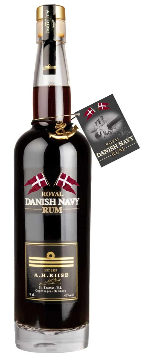 A.H. Riise Navy Rum FL 70