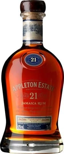 Appleton Estate 21 YO Jamaica Rum FL 70