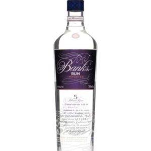 Banks 5 YO White Rum FL 70