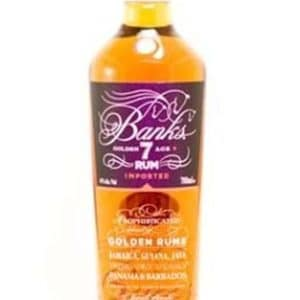 Banks 7 YO Golden Rum FL 70
