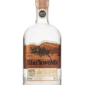 Blackwood's 2012 Superior Dry Gin FL 70