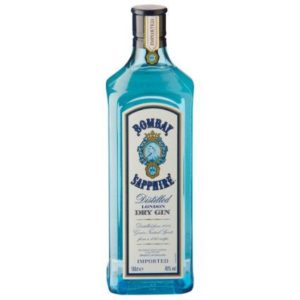 Bombay Sapphire London Dry Gin 40%* 1 ltr