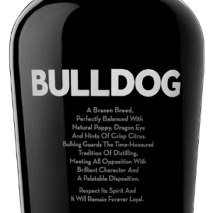 Bulldog Dry Gin FL 70