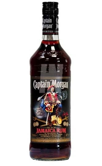 Captain Morgan Black Jamaica Rum* 1 ltr