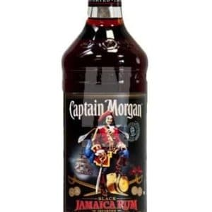 Captain Morgan Black Jamaica Rum FL 70