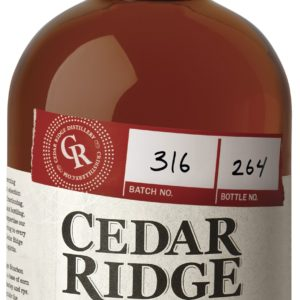 Cedar Ridge Bourbon Whiskey