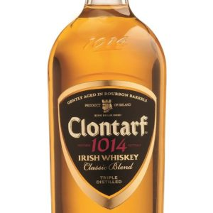 Clontarf Black Label Irish Whiskey FL 70