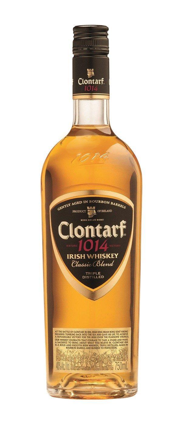 Clontarf Black Label Irish Whiskey FL 70