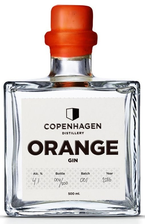 Copenhagen Distillery, Orange Gin 50cl