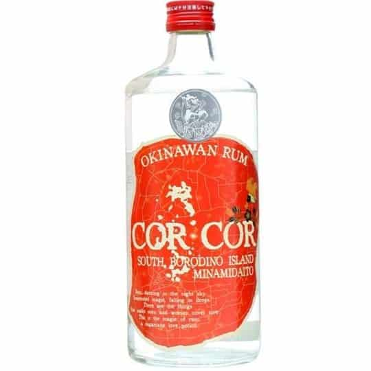 Cor Cor Red Label Okinawan Rum FL 70