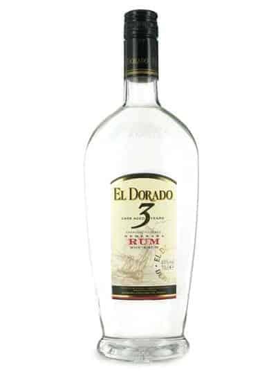 El Dorado 3 YO White Rum FL 70