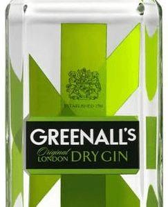 Greenall's London Dry Gin* 1 ltr