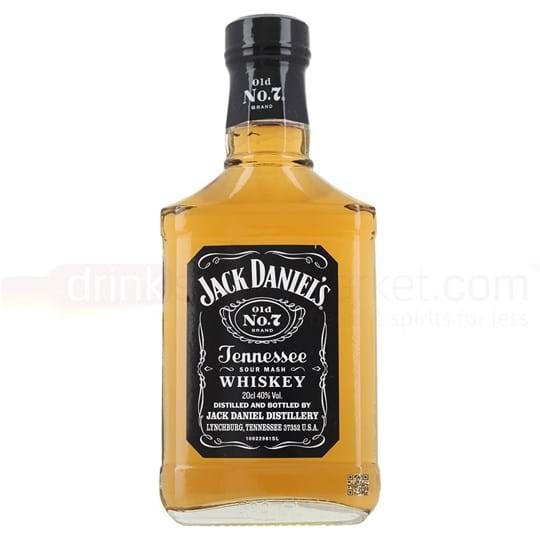 Jack Daniel's Old No.7 Whiskey 20 cl