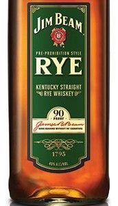 Jim Beam Rye Whiskey FL 70