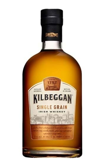 Kilbeggan Single Grain Irish Whiskey FL 70