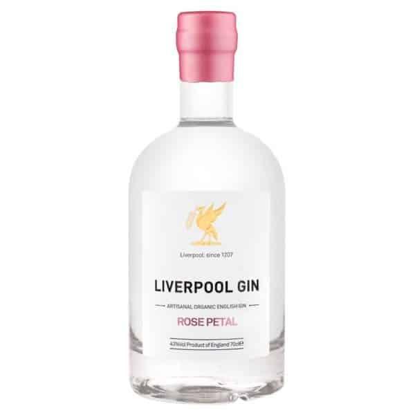 Liverpool Rose Petal Gin FL 70