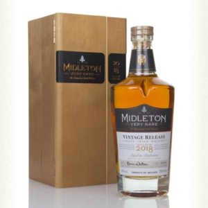 Midleton Very Rare Irish Whiskey 2018 FL 70