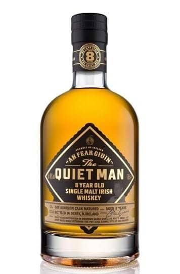 Quiet Man 8 YO Irish Whiskey FL 70