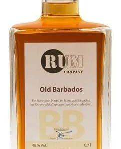 Rum Company Old Barbados FL 70