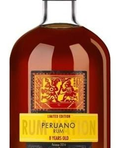 Rum Nation Peruano 8 YO FL 70
