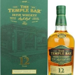 The Temple Bar 12 YO Irish Whiskey FL 70