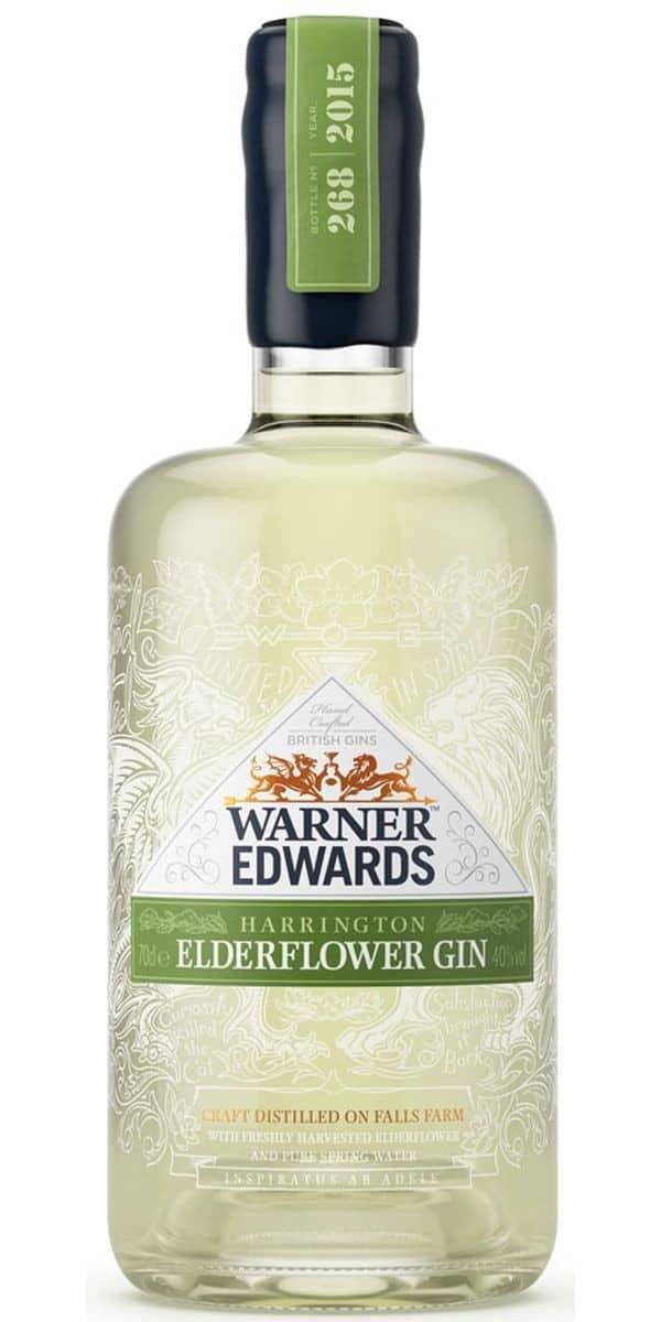 Warner Edwards Elderflower Gin FL 70