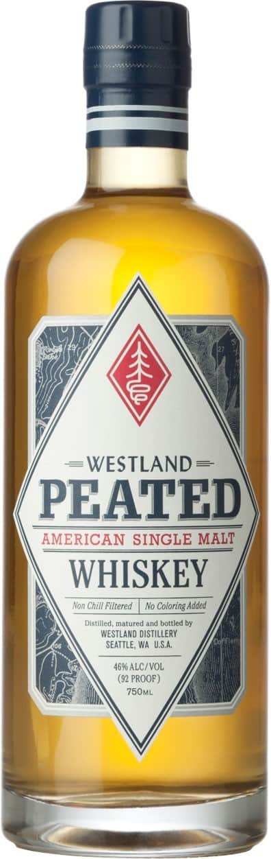 Westland Peated American Single Malt Whiskey FL 70
