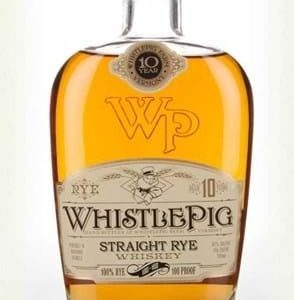 WhistlePig 10 YO Straight Rye Whiskey FL 70