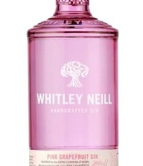 Whitley Neill Pink Grapefruit Gin 70 cl.