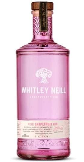 Whitley Neill Pink Grapefruit Gin 70 cl.