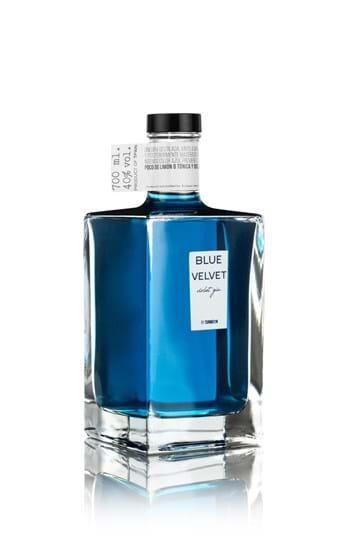 Blue Velvet Violet Gin Fl 70