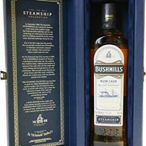 "Bushmills ""Rum Cask"" Steamship Collection 70 Cl."