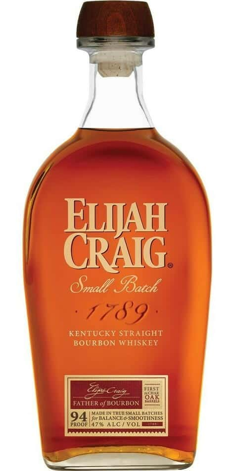 Elijah Craig Small Batch Bourbon Whiskey 0,7 liter5 Ltr