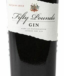 Fifty Pounds London Dry Gin Fl 70