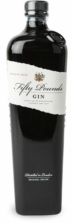 Fifty Pounds London Dry Gin Fl 70