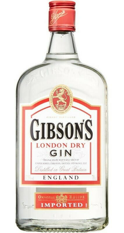 Gibson's London Dry Gin Fl 70