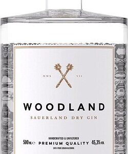 Woodland, Handcrafted Sauerland Dry Gin Gin 50 cl.