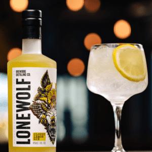 LoneWolf Cloudy Lemon Gin 40% 70cl
