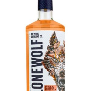 LoneWolf Peach & Passionfruit gin 40 % 70cl